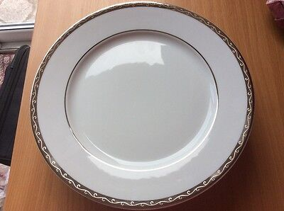 Brand New  x 6 Marks and Spencers Home Platinum Dinner Plates
