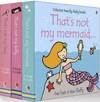 Thats Not My Girls touchy-feely Pack of 3 books WATT Wells  trackable freepost