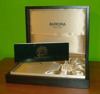 Box Aurora Dante Alighieri Penna Stilografica Fountain Pen Limited Edition Italy