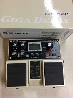 Boss DD-20 Giga Delay Excellent Condition Boxed DL-4 Beater!