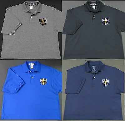Colorado State Police Patch Polo Shirt - MED to 3XL - 4 Colors - NEW