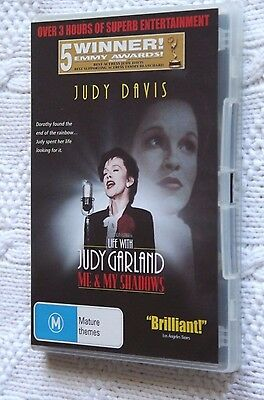 Life With Judy Garland- Me And My Shadows (Dvd) Region-4, Like New, Free Post
