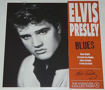 "Elvis Presley The Signature Collection Part 6 Blues 7"" CLRD + CD LTD 500 WW"