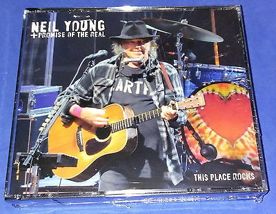 NEIL YOUNG_& Promise of the Real_3 CD'S_ SWEDEN 2016 sealed