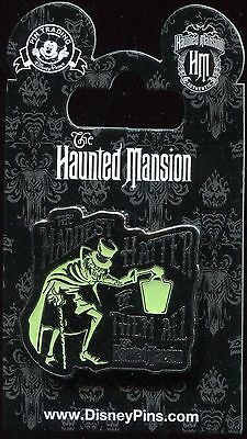 Haunted Mansion Hatbox Ghost Maddest Hatter of Them All Disney Pin 114640