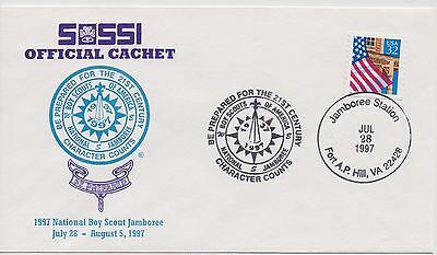 Scout Cachets - Lot 009 -  SOSSI 1997 National Jamboree