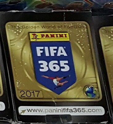 Panini Fifa 365 Sticker 2017 - 50 Packets And Sealed sticker Album