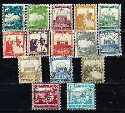 Palestine British Mandate Holy Places Pictorial stamps 1921