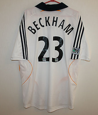 Los Angeles LA Galaxy USA MLS home shirt 07/08 #23 Beckham Adidas