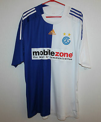 Grasshoppers swiss home player issue shirt 08/09 Adidas Formotion