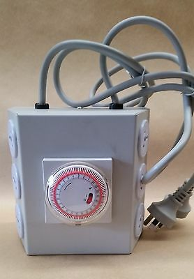 6 OUTLET LMU 6000W with TIMER / HYDROPONIC LIGHT MANAGEMENT UNIT