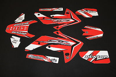 Honda Crf 150R Pts Two Flu Mx Graphics Decals Kit Stickers