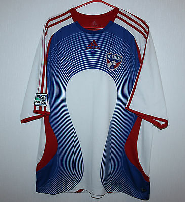 FC Dallas USA MLS training shirt Adidas
