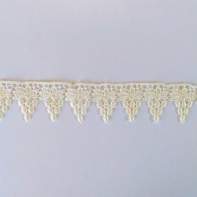 Guipure Lace ~ Ivory ~ Purchase by the Metre