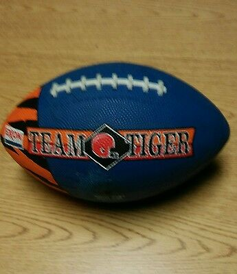 Exxon Vintage Blue Team Tiger Football, Official Size