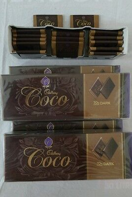 Bulk lots of 4X boxes Cadbury Coco 210g or 84 pieces