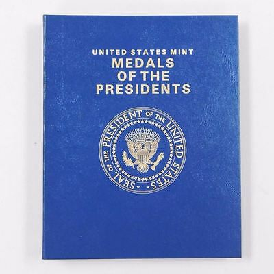lot of 41 Franklin Mint Bronze Presidential Medals Washington to George H.W Bush