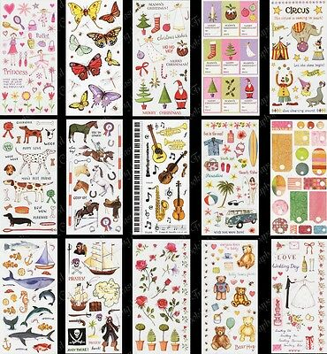Creative Stickers ~ 15 x Design Options ~ Scrapbooking Craft Card Making