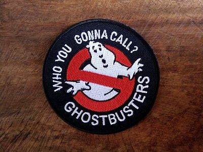 New Ghostbusters Embroidered Iron Or Sew On Patch Badge Logo Fancy Dress