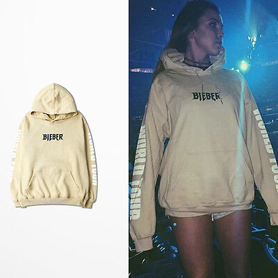Justin Bieber Purpose Tour Pullover Hoodie Casual Cotton Hooded Sweatshirt