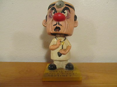 Vintage Rumpus Room Doctor Nodder Bobblehead - Pierre Patterson