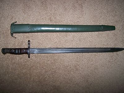 WW1 Winchester 1917 Bayonet and scabbard