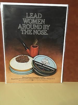 1971  Flying Dutchman Tobacco Magazine ad VG