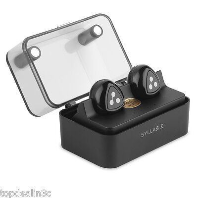 Mini Auriculares Estéreo Wireless Bluetooth V4.1 Doble-Oído + Batería Externa ES
