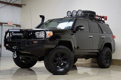 2013 Toyota 4Runner  TOYOTA 4RUNNER OFFROAD LIFTED ICON LIFT 4X4 SNORKEL SUNROOF LED LIGHTS ROOF RACK