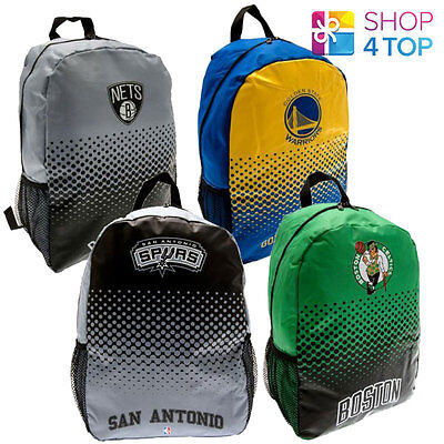 Official Basketball Club Team Backpack Nba School Travel Bag Licensed New