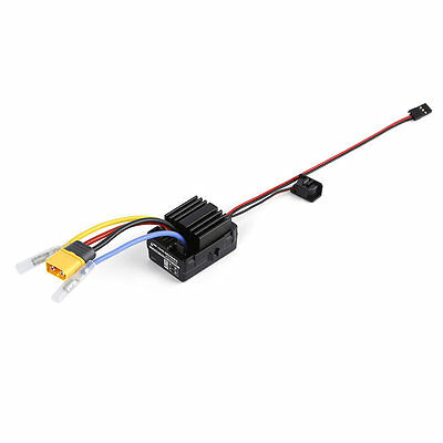 WP 1040 60A Waterproof Brushed ESC Controller for Hobbywing Quicrun Car Motor P6