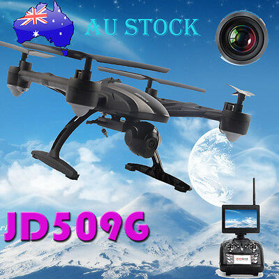 JXD JD509G RC Drone FPV Quadcopter w/ HD Camera 5.8G Altitude Hold AU NSW Stock