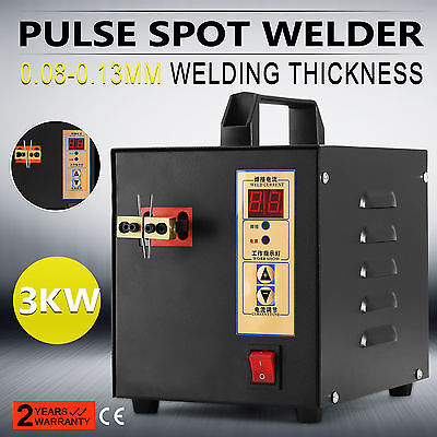 Handheld Pulse Spot Welder Mcahine Dual Pulse Small Sparks Battery Charger