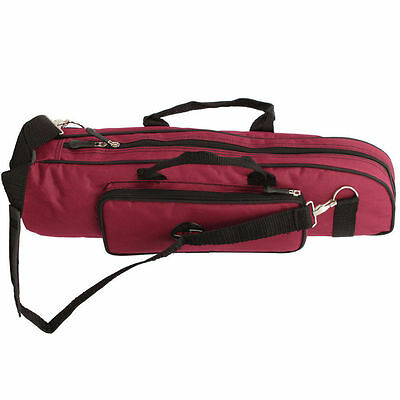 Red High Quality Trumpet Soft Case Nylon Gig Bag Cross body Portablew/Pad New