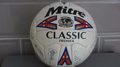 Leicester City F.c Signed Football. Signed By 17.