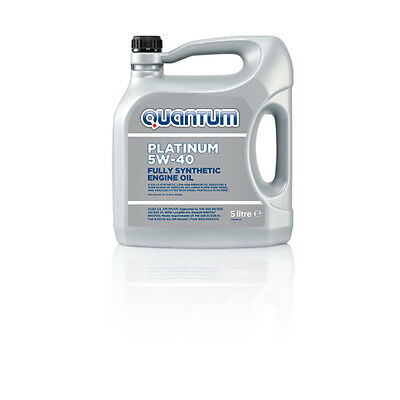 Quantum Platinum 5W-40 Fully Synthetic Engine Oil 5 Litre Bottle EXPRESS