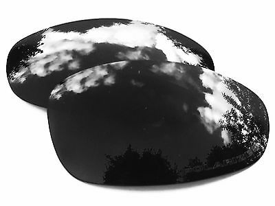 New Engraved Black Polarized Custom Mirrored Replacement Oakley Juliet Lenses