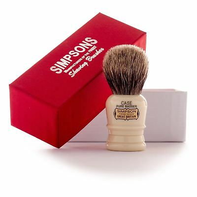 Simpsons 'The Case' Pure Badger Hair Shaving Brush