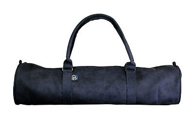 Yoga Mad Suede Mat Yogi Pilates Carrier Bag Black RRP £24 *BNWT*
