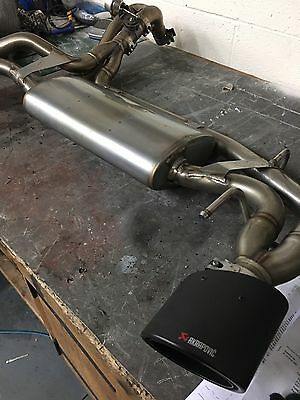 Akrapovic Exhaust for Abarth - Slip-On Line Stainless Steel