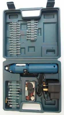 60PC Cordless Rotary Multi Tool Hobby Precision Drill & Accessories Grinder Set
