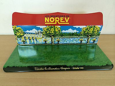 Norev Diorama Chateau - Castle - 1:43 Display In Metal