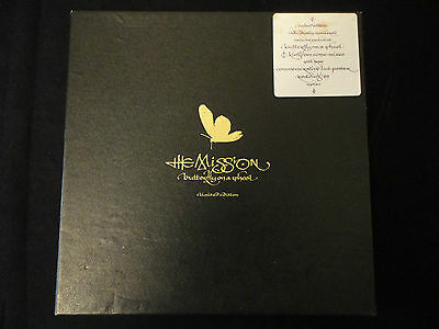 """THE MISSION Butterfly On A Wheel UK 10"""" box set + poster 1989 numbered"""