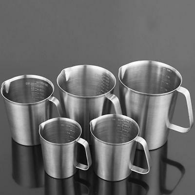 Stainless Steel Metal Milk Frothing Jug Coffee Latte Cappuccino Cream Various