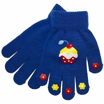 New Kids Children Gloves Small Boys Magic Winter Warm Acrylic Thermal Gloves
