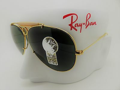 RayBan Bausch & Lomb L0213 Shooter Aviator 62mm NOS Cased Ex/Display