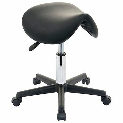 Salon Black Beauty Stool Massage Manicure Gas Lift Swivel Chair Wheels Tattoo