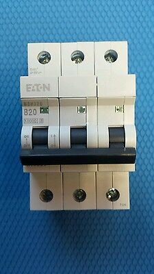 Memshield MEM MBH Type B MCB three phase , triple pole