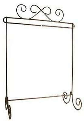 12in x 14in Scroll Single Table Stand Linen