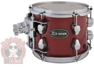 X-DRUM PRO-STAGE Tom PM2-TT1008-RD COLORE ROSSO